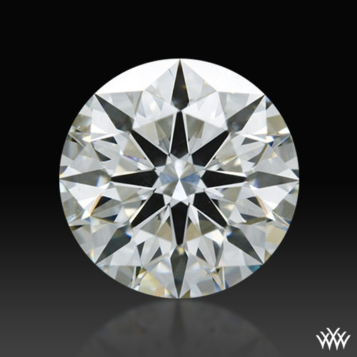 1.254 ct G SI1 A CUT ABOVE® Hearts and Arrows Super Ideal Round Cut Loose Diamond