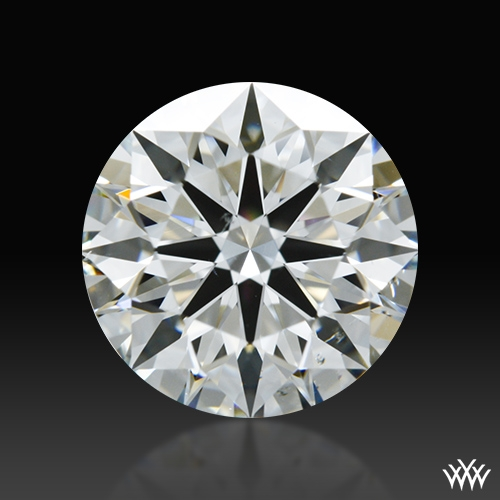 1.32 ct H SI1 A CUT ABOVE® Hearts and Arrows Super Ideal Round Cut Loose Diamond