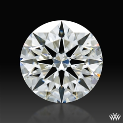 1.096 ct H VS2 A CUT ABOVE® Hearts and Arrows Super Ideal Round Cut Loose Diamond