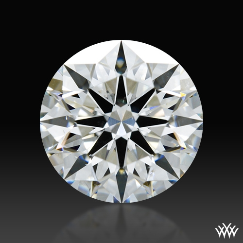 1.038 ct H SI1 A CUT ABOVE® Hearts and Arrows Super Ideal Round Cut Loose Diamond