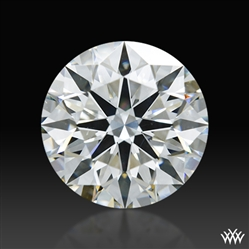 2.197 ct I SI1 A CUT ABOVE® Hearts and Arrows Super Ideal Round Cut Loose Diamond