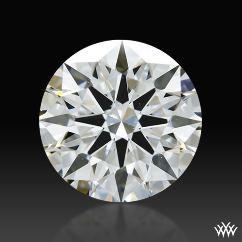 1.344 ct H VS2 A CUT ABOVE® Hearts and Arrows Super Ideal Round Cut Loose Diamond