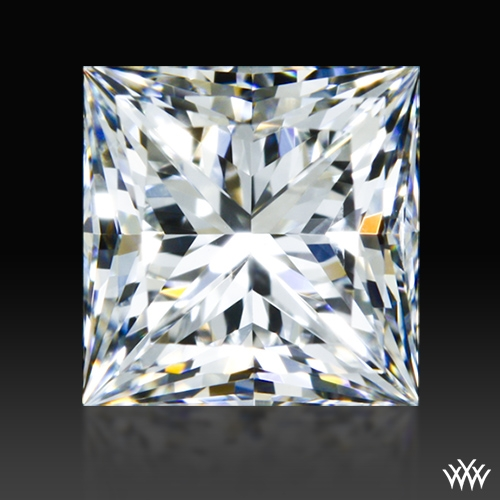 0.901 ct F SI1 A CUT ABOVE® Princess Super Ideal Cut Diamond