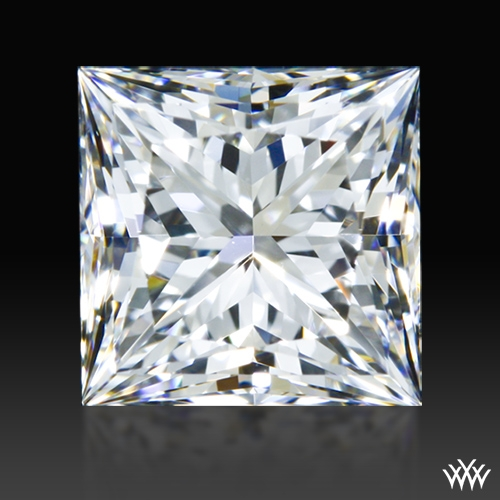 1.072 ct E VS1 A CUT ABOVE® Princess Super Ideal Cut Diamond