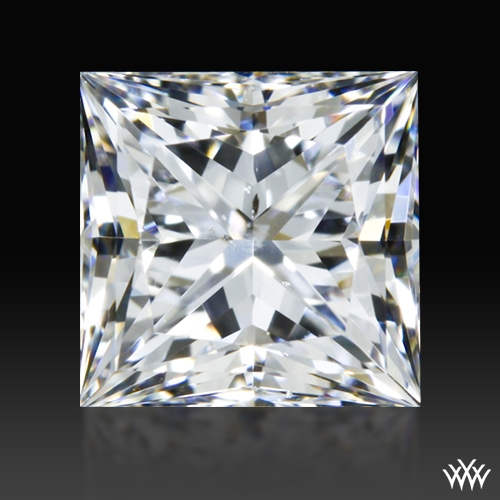 0.803 ct E SI1 A CUT ABOVE® Princess Super Ideal Cut Diamond