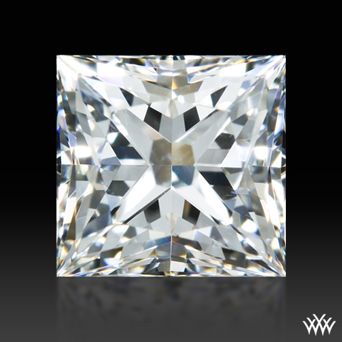 0.688 ct F VS2 A CUT ABOVE® Princess Super Ideal Cut Diamond