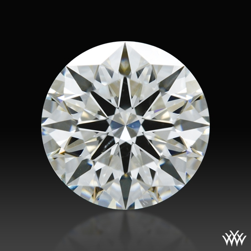 1.218 ct I SI1 A CUT ABOVE® Hearts and Arrows Super Ideal Round Cut Loose Diamond