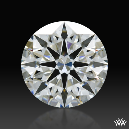 0.831 ct H VS2 A CUT ABOVE® Hearts and Arrows Super Ideal Round Cut Loose Diamond
