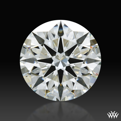 0.81 ct J VS2 A CUT ABOVE® Hearts and Arrows Super Ideal Round Cut Loose Diamond