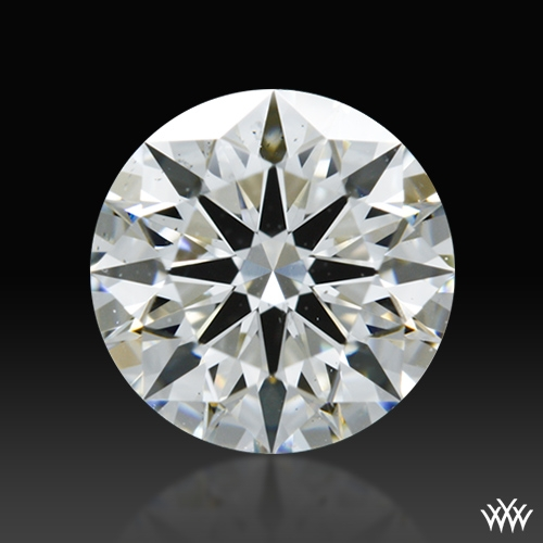 0.851 ct I SI1 A CUT ABOVE® Hearts and Arrows Super Ideal Round Cut Loose Diamond