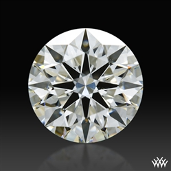 0.813 ct I SI1 A CUT ABOVE® Hearts and Arrows Super Ideal Round Cut Loose Diamond