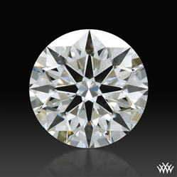 0.612 ct F SI1 A CUT ABOVE® Hearts and Arrows Super Ideal Round Cut Loose Diamond