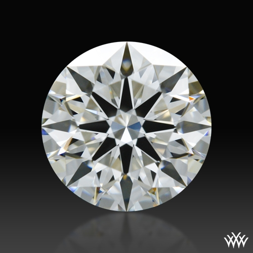 0.762 ct H VS1 A CUT ABOVE® Hearts and Arrows Super Ideal Round Cut Loose Diamond