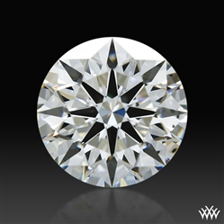 0.841 ct G SI1 A CUT ABOVE® Hearts and Arrows Super Ideal Round Cut Loose Diamond