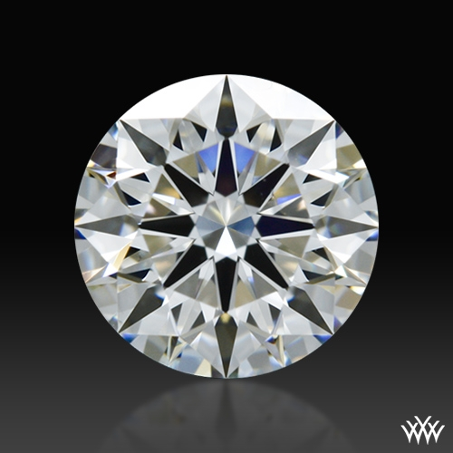 0.776 ct F VS2 A CUT ABOVE® Hearts and Arrows Super Ideal Round Cut Loose Diamond