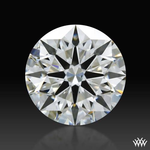 0.843 ct F VS2 A CUT ABOVE® Hearts and Arrows Super Ideal Round Cut Loose Diamond