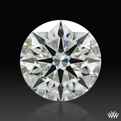 1.012 ct I SI1 A CUT ABOVE® Hearts and Arrows Super Ideal Round Cut Loose Diamond