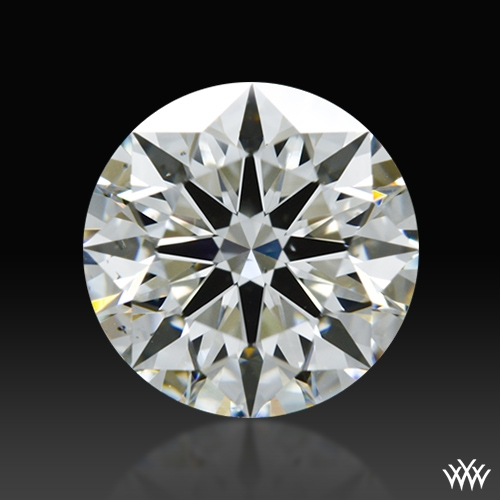1.214 ct I SI1 A CUT ABOVE® Hearts and Arrows Super Ideal Round Cut Loose Diamond