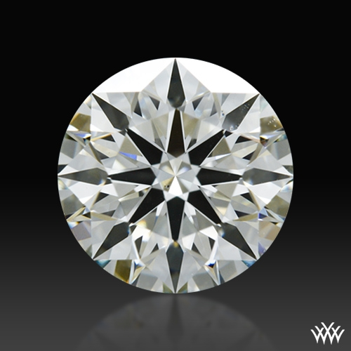 1.215 ct J VS2 A CUT ABOVE® Hearts and Arrows Super Ideal Round Cut Loose Diamond