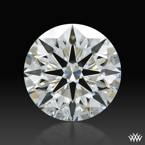 1.313 ct H SI1 A CUT ABOVE® Hearts and Arrows Super Ideal Round Cut Loose Diamond