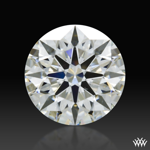 0.558 ct J VS2 A CUT ABOVE® Hearts and Arrows Super Ideal Round Cut Loose Diamond