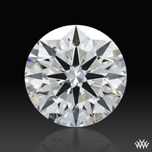 0.638 ct F SI1 A CUT ABOVE® Hearts and Arrows Super Ideal Round Cut Loose Diamond
