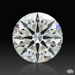 0.727 ct I VS2 A CUT ABOVE® Hearts and Arrows Super Ideal Round Cut Loose Diamond