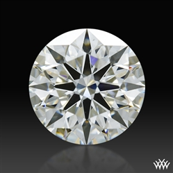 0.758 ct I VS2 A CUT ABOVE® Hearts and Arrows Super Ideal Round Cut Loose Diamond