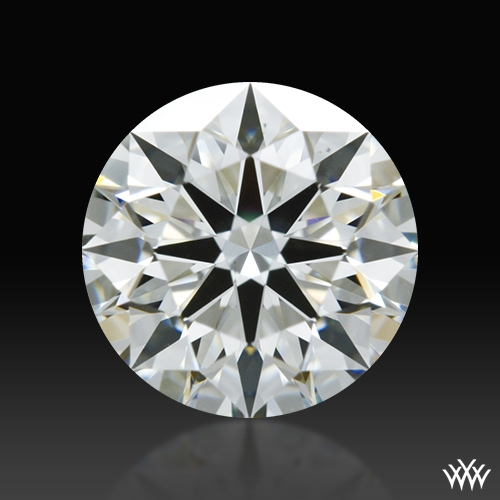 0.733 ct J VS2 A CUT ABOVE® Hearts and Arrows Super Ideal Round Cut Loose Diamond