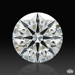 0.808 ct H VS1 A CUT ABOVE® Hearts and Arrows Super Ideal Round Cut Loose Diamond