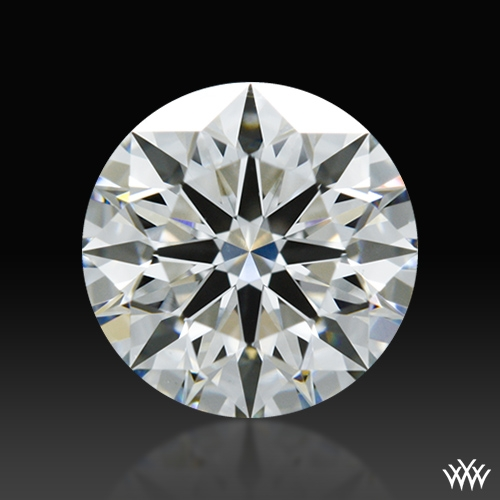 0.752 ct H VS2 A CUT ABOVE® Hearts and Arrows Super Ideal Round Cut Loose Diamond