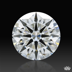 0.558 ct D SI1 A CUT ABOVE® Hearts and Arrows Super Ideal Round Cut Loose Diamond