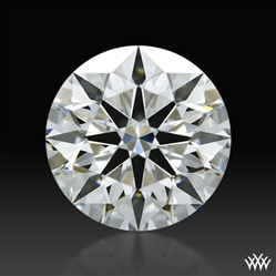 1.074 ct G SI1 A CUT ABOVE® Hearts and Arrows Super Ideal Round Cut Loose Diamond