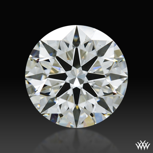 0.758 ct H VS2 A CUT ABOVE® Hearts and Arrows Super Ideal Round Cut Loose Diamond