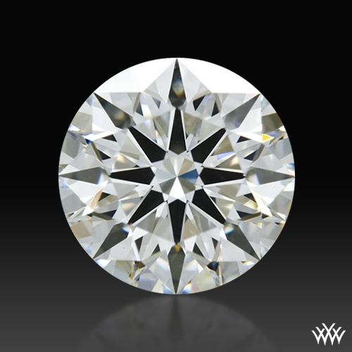 0.866 ct I VS1 A CUT ABOVE® Hearts and Arrows Super Ideal Round Cut Loose Diamond