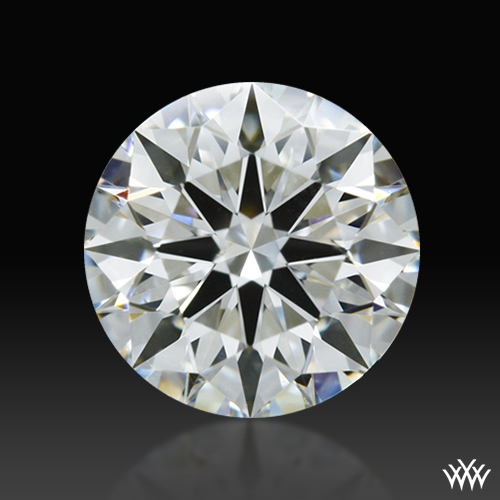 0.604 ct H SI1 A CUT ABOVE® Hearts and Arrows Super Ideal Round Cut Loose Diamond