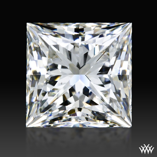 0.943 ct I VS2 A CUT ABOVE® Princess Super Ideal Cut Diamond