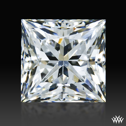 0.835 ct H VS1 A CUT ABOVE® Princess Super Ideal Cut Diamond