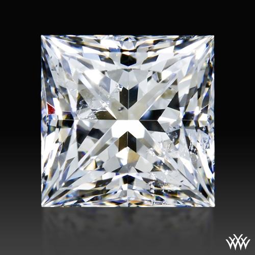 0.876 ct G SI2 A CUT ABOVE® Princess Super Ideal Cut Diamond
