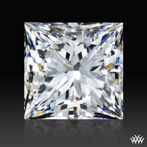 0.808 ct E VVS2 A CUT ABOVE® Princess Super Ideal Cut Diamond