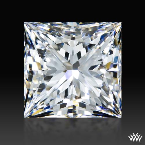 0.808 ct E VVS2 A CUT ABOVE® Princess Super Ideal Cut Diamond