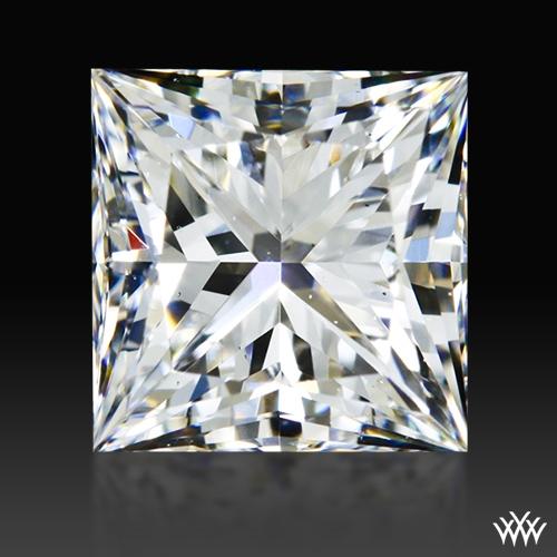 0.806 ct F SI1 A CUT ABOVE® Princess Super Ideal Cut Diamond