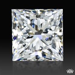 0.624 ct E SI1 A CUT ABOVE® Princess Super Ideal Cut Diamond