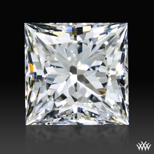 0.608 ct F VVS1 A CUT ABOVE® Princess Super Ideal Cut Diamond