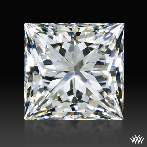 0.901 ct I VS1 A CUT ABOVE® Princess Super Ideal Cut Diamond