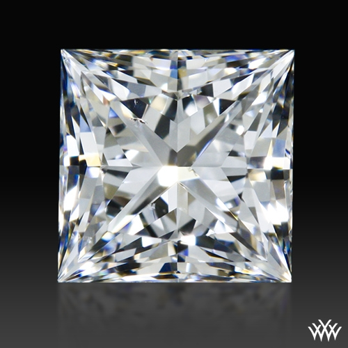 0.608 ct E SI1 A CUT ABOVE® Princess Super Ideal Cut Diamond
