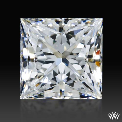 0.605 ct G SI2 A CUT ABOVE® Princess Super Ideal Cut Diamond