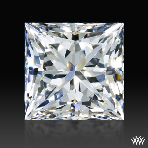 0.601 ct E VVS2 A CUT ABOVE® Princess Super Ideal Cut Diamond