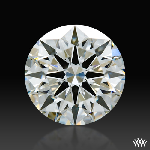 1.011 ct I SI1 A CUT ABOVE® Hearts and Arrows Super Ideal Round Cut Loose Diamond