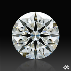1.236 ct H VS2 A CUT ABOVE® Hearts and Arrows Super Ideal Round Cut Loose Diamond